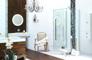 Prysznic z panelem do hydromasażu