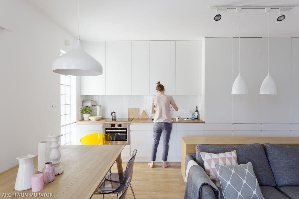 Galeria zdjęć  Biała kuchnia  zdjęcia 15 aranżacji wnętrz w różnych stylac   -> Biala Kuchnia Eklektyczna
