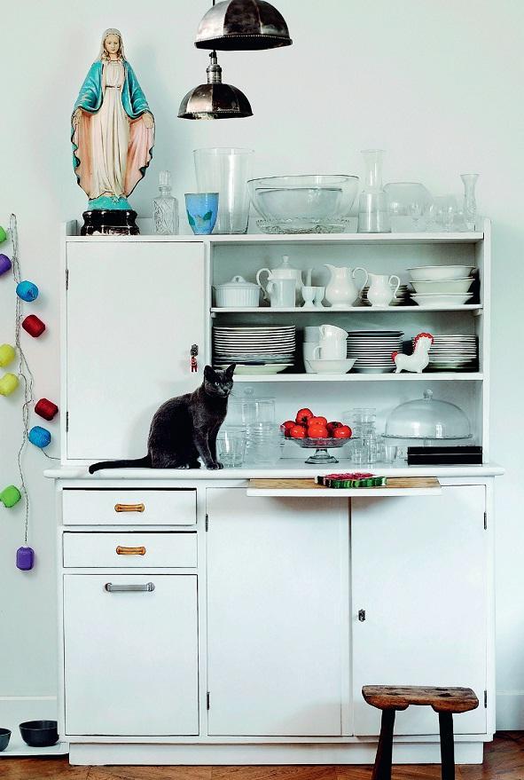 Kredens w kuchni