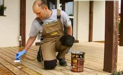 Renowacja podłogi tarasu drewnianego. Instrukcja filmowa