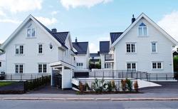 300-letnie domy z prefabrykatów w stylu skandynawskim