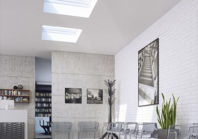 Okna do płaskich dachów - duża ilość światła, energooszczędność, wygodna obsługa