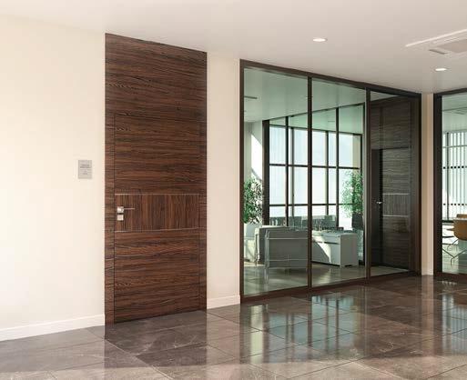 Drzwi z panelem