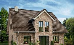 Trwałe pokrycie dachowe. Dachówka ceramiczna na duży i nieskomplikowany dach