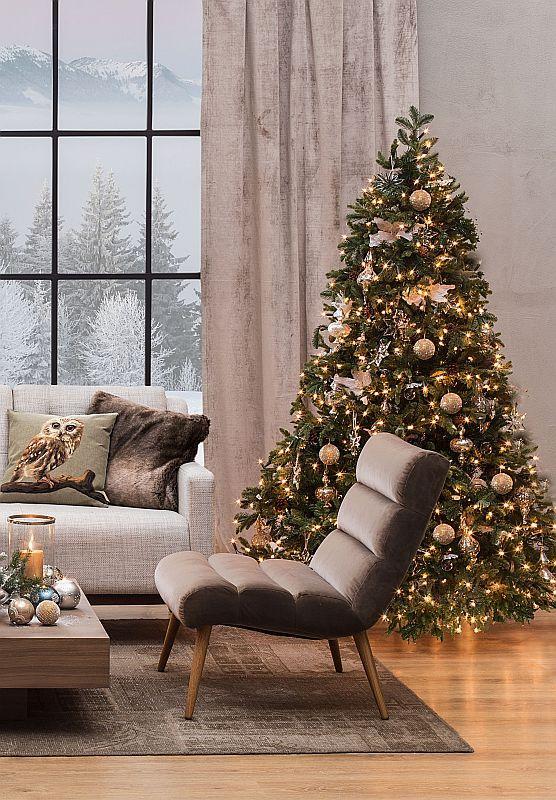 Choinka świąteczna do luksusowego wnętrza