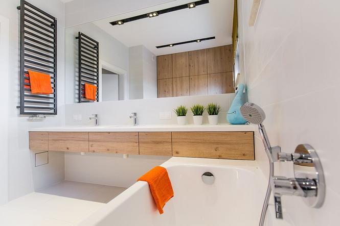 Funkcjonalna łazienka w inwestycji Nowe Złotniki
