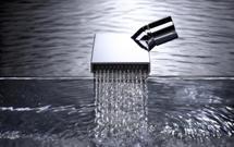 Deque - nowa forma strumienia wody od Dornbracht