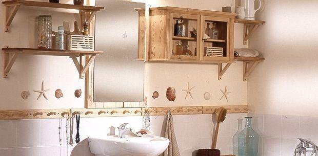 Rustykalne oblicze łazienki