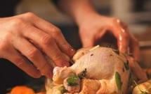 Kurczak z tymiankiem i warzywami