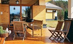 Pielęgnacja drewnianego tarasu: z drewna egzotycznego oraz iglastego