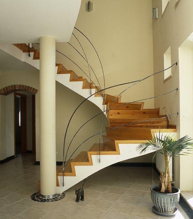Galeria artykułu Schody wewnętrzne: rodzaje schodów do..., zdjęcie nr 6 - Muratordom.pl